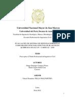PROYECTO TESIS- EVALUACION DE SISTEMA DE DEFENSA RIBEREÑA COMO PROTECCION PARA EFECTOS DE HUAICOS EN QUEBRADA HUAICAN - CARHUAZ