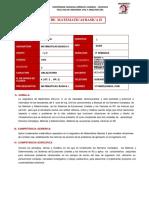 SILABO MATEMÁTICAS BASICAS II (2)