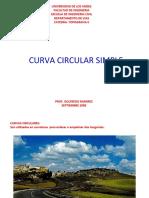 Curva Circular Simple