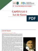 Cap. 3 - Lei de Gauss
