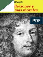 François de La Rochefoucauld - Reflexiones y Máximas-Morales (1665)