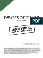 C01 Dwarfs of Chaos