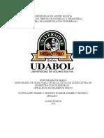 Monografia de Processos de Gas Natural