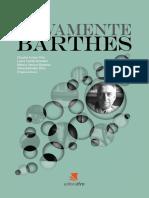 Novamente Roland Barthes