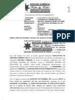 SOLICITO HACER EFECTIVO APERCIBIMIENTO, PROPONE ÚLTIMO APERCIBIMIENTO DE REMITIR COPIAS AL MINISTERIO PUBLICO