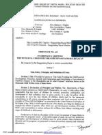 Child Welfare Code - OrdinanceNo.228