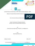 Contextualización de la Propuesta Didáctica de Medios Audiovisuales - RLopez