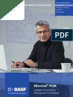 BASF_Micronal_PCM_Brochure 2009_English