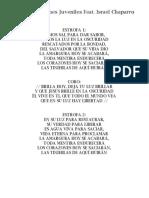 Brilla - Soluciones Juveniles Feat. Israel Chaparro - Letra