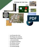 Sistemas Ecosistemas y agroecosistemas IG