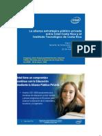 La alianza estratégica público-privada entre Intel Costa Rica y el Instituto Tecnológico de Costa Rica
