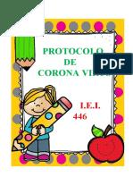 PROTOCOLO CORONA VIRUS