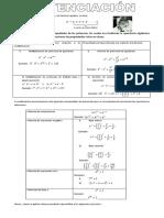 Guia Potenciacion Con Teoria 1er Ac3b1o (1)