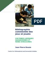 Cultures Ludiques Sahariennes et Nord-Africaines. Bibliographie commentée