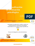 EVALUACIÓN PSICOLOGICA