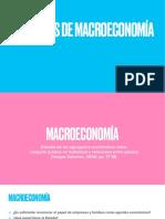 U4. Principios Macroeconomía