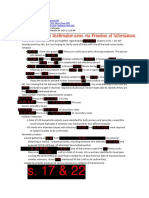 Fraser Health Contact Tracing FOI