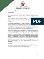 RES 291-2010-JNE - Reglamento de personeros y observadores