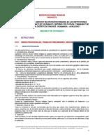 1.-ESPECIFICACIONES OBRAS PRELIMINARES CAYRAMAYO