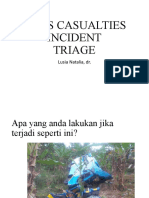Triage disaster