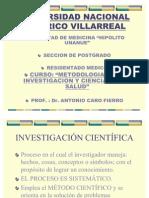 1.- INVESTIGACIÓN CIENTÍFICA  Y METODOLOGÍA DE LA INVESTIGACIÓN   C
