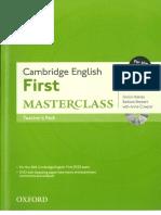 Cambridge First Masterclass 2015 TB