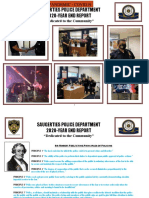 Saugerties Police 2020 Year End Report