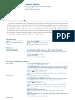 Currículo do Sistema de Currículos Lattes (Daniela Althoff Philippi)