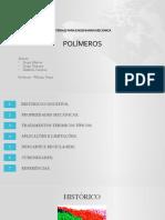Apresentação polímeros