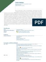 Currículo do Sistema de Currículos Lattes (Helen Fischer Günther)