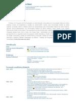 Currículo do Sistema de Currículos Lattes (Maurício Rissi)