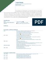 Currículo do Sistema de Currículos Lattes (Tatiane Lopes Duarte)