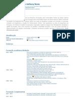 Currículo do Sistema de Currículos Lattes (Wudson Anthony Neres)