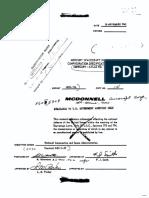 Mercury Capsule No. 15A Configuration Specification MA-10