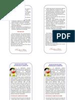Folder Introdução alimentar e BLW