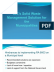 Agricultural Inoculants Corp.'s Solid Waste Management Solution for Municipalities