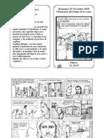 Vangelo a fumetti - 29 Novembre 2020 - I Domenica di Avvento - B