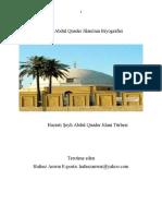 Hazreti Şeyh Abdul Quader Jilani Turkish