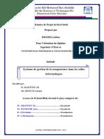 Systeme de gestion de la tempe - DIOURI Loubna_2192