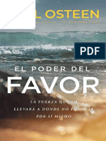 The Power of Favor Study Guide by Joel Osteen-Spanish