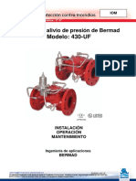 BERMAD IOM-FP PI4PS09-430UF
