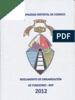 ROF - Municipalidad Distrital de Coishco - Ancash