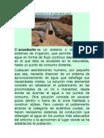 DEFINICION DE ACUEDUCTO Y ALCANTARILLADO