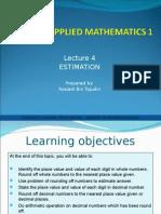 Applied Mathematics - Slide 4