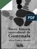 BREVE HISTORIA INTERCULTURAL DE  GUATEMALA
