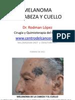 MELANOMA DE LA CABEZA Y EL CUELLO