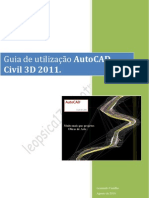 004 - Guia de utiliza€¦ção do AutoCAD CIVIL 3D 2011