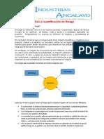 Análisis y Cuantificación de Riesgo(TRABAJO)