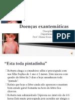 AULA DE DOENÇA EXANTEMÁTICA  com audio