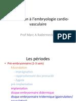 cours embryo cardio vasc